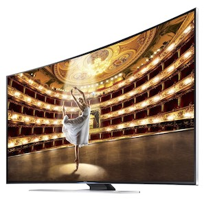 SAMSUNG UN65HU9000 Curved 4K TV