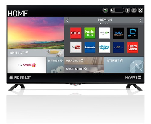 LG Electronics 40UB8000 40-Inch 4K Ultra HD 60Hz Smart LED TV (Big Game Special)